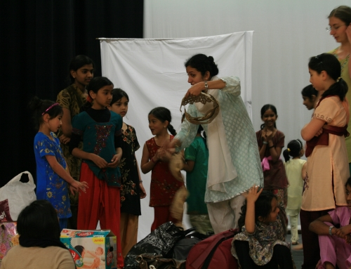 Indian Rhythms at The Place, London, Family Fun Dance Day